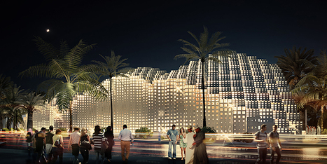 point studio propose PIXELATED dome restaurants in oman | The Architecture of the City | Scoop.it