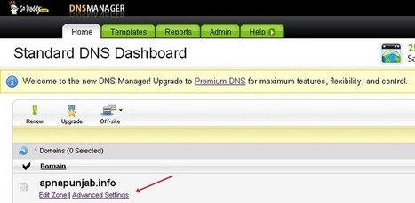 How To Create and Setup Subdomain in GoDaddy   Blogger Tricks, Blog Templates, Widgets   Scoop.it