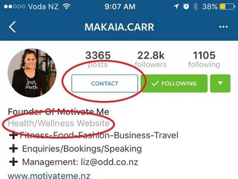 Instagram teste son équivalent des pages Facebook | Réseaux sociaux | Scoop.it