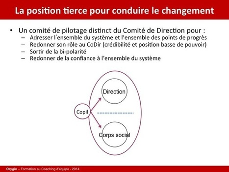 Coaching d'organisation : exemple d'intervention | Coaching de dirigeants | Scoop.it