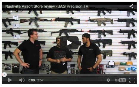 BRIAN HOLT visits Nashville Airsoft Store review - JAG Precision TV on YouTube | Thumpy's 3D House of Airsoft™ @ Scoop.it | Scoop.it
