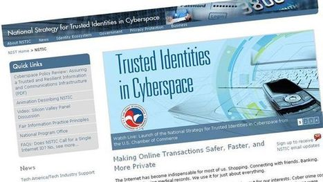 Obama Administration Unveils Internet ID Plan | Technology by Mike | Scoop.it
