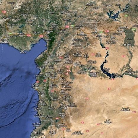 War in Syria: Interactive Map Outlines Major Battle Zones | Social Studies Education | Scoop.it