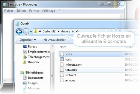 Comment bloquer des sites web sur votre ordinateur sans logiciel ! | Time to Learn | Scoop.it
