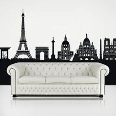 Vinilos Decorativos Skyline París | Vinilos Decoración | Scoop.it