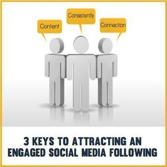 3 Keys to Attracting an Engaged Social Media Following | SEO, SMM | Scoop.it