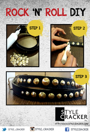 StyleCracker | ROCK 'N' ROLL - DIY | Stylecracker Cracker | Scoop.it