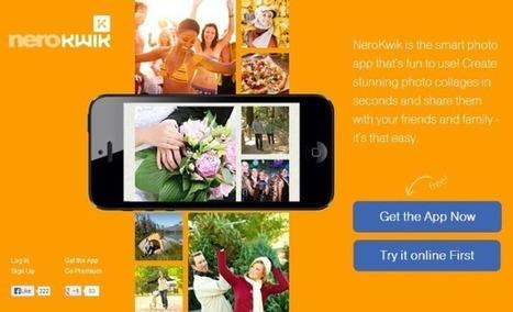 NeroKwik: comparte tus fotos de una manera más creativa y vistosa | Las TIC y la Educación | Scoop.it