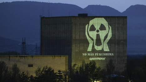 Le message spectaculaire de Greenpeace contre le nucléaire | Mais n'importe quoi ! | Scoop.it