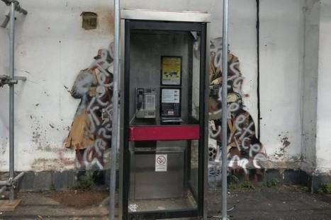 Un graffiti de Banksy vandalisé en Angleterre - LaPresse.ca   art move   Scoop.it