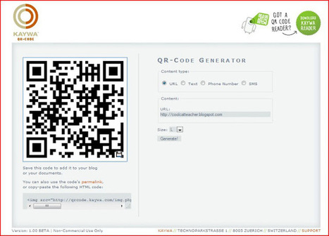 Cool Cat Teacher Blog: QR Code Classroom Implementation Guide | QR codes & learning | Scoop.it