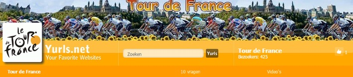 "Gespot! Yurls ""Tour de France"" 