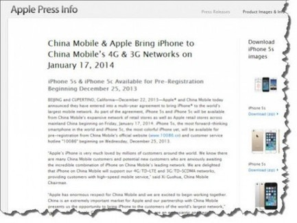 Apple (Finally) Signs the Deal with China Mobile - 700 Million New Potential Customers!   BUSS4@Priestley   Scoop.it