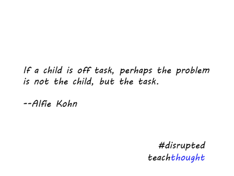 If A Child Is Off-Task… | Leadership, Innovation, and Creativity | Scoop.it