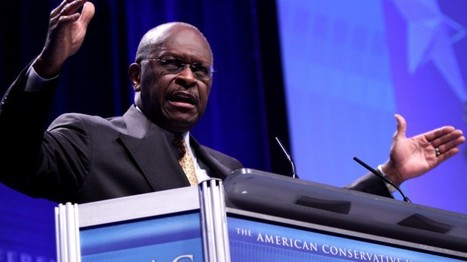 Top 5 places Herman Cain dined on contributors' dimes | The Raw Story | Poly Ticks | Scoop.it