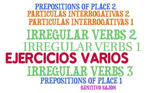 EJERCICIOS VARIOS-EJERCICIOS DE REPASO | WHO CAN HELP ME? | Scoop.it