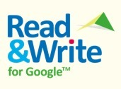Read&Write for Google for Struggling Readers & Writers | Technology in Art And Education | Scoop.it