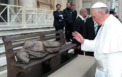 'Jesus the Homeless' sculpture may find home in Rome - Catholic News Service | Rome Florence Venice Vacations | Scoop.it