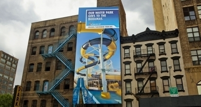 """And the award for best integration of a fire escape with a billboard goes to..."" 