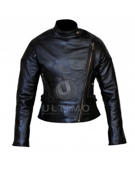 Wanted Angelina Jolie Leather Jacket | Celebrities Leather Jackets | Scoop.it