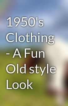 1950 Dresses-An Passionate Look | vintage fashion extravaganza | Scoop.it