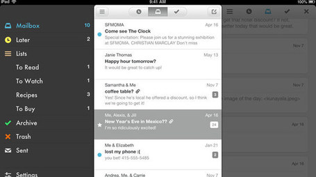 Popular E-Mail App Mailbox Comes to iPad | iGeneration - 21st Century Education | Scoop.it