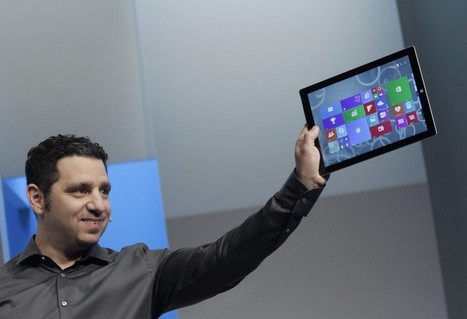 Microsoft unveils larger Surface tablet   Educational technology , Erate, Broadband and Connectivity   Scoop.it