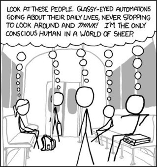 Sheeple... - I am the only conscious human... | Teacher Tools and Tips | Scoop.it