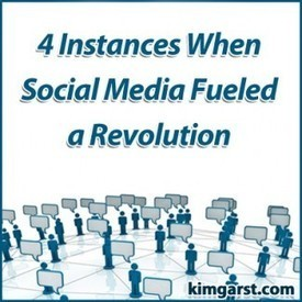 4 Instances When Social Media Fueled a Revolution | The 21st Century | Scoop.it