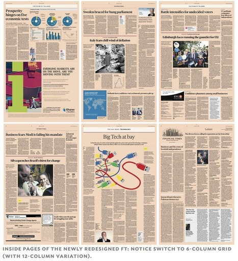 Financial Times: A classic redesign for the digital age | Poynter. | Convergence Journalism | Scoop.it