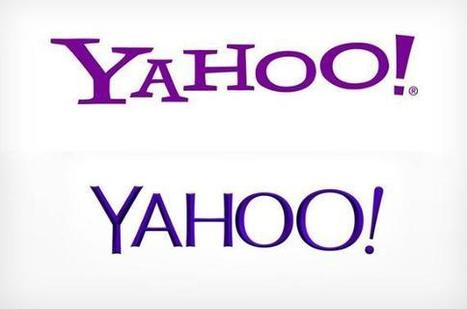 Yahoo! dévoile son nouveau logo | News & best practices : Brands | Scoop.it