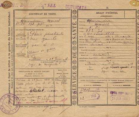 La Campagne du soldat Marcel Marandeau pendant la Guerre de 1914-1918 | Généalogie et histoire, Picardie, Nord-Pas de Calais, Cantal | Scoop.it