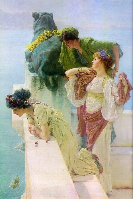 LAWRENCE ALMA-TADEMA, EL PINTOR DEL MUNDO ... | Contemplación | Scoop.it