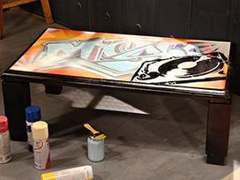 Mesa street art |  FOX Play | Hecho en casa | Scoop.it