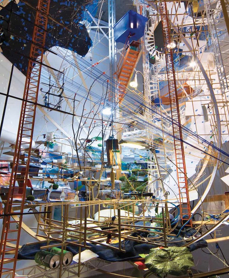 Sarah Sze's Overflowing Art Installations Are Part OCD (obsessive-compulsive disorder), Part Chaos | Photography | Scoop.it