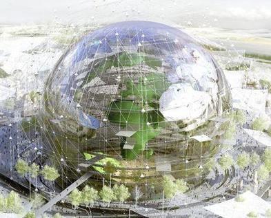 Le Triangle de Gonesse veut construire le globe de l'exposition Universelle | Le Grand Paris des transports et des territoires | Scoop.it