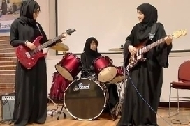 Meet the first all-Emirati, all-girl rock band - The National | Genre, éducation, lgbt, gender studies | Scoop.it