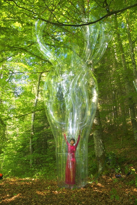 performance art meets inflated sculptures by victorine müller | ART worth watching | Scoop.it