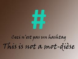 Ceci n'est pas un #hashtag : j'utiliserai le mot-dièse #incrédule | Web 2.0 et société | Scoop.it