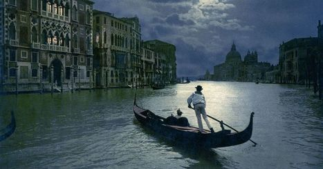 Spectacular hand-colored postcards of 19th-century Venice | ♡ James & Mary ♡ | Scoop.it