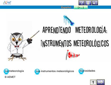AEMET pone en marcha una nueva sección de Recursos Educativos | Educación y TIC | Scoop.it