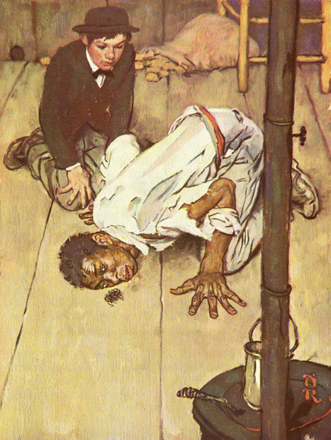 Norman Rockwell's Rare Illustrations for The Adventures of Huckleberry Finn | K-12 School Libraries | Scoop.it