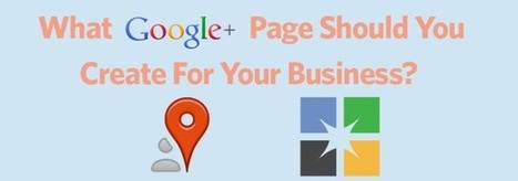 What Google+ Page Should You Create For Your Business – Local or Brand? | Constant Contact Blogs | Business Owners sites | Scoop.it