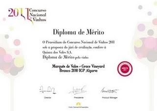 Merit Diploma CNVE 2011 | @zone41 Wine World | Scoop.it