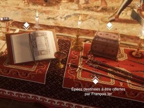 Avec l'histopad, Chambord propose une visite immersive du château sous le règne de François 1er | Médias sociaux et tourisme | Scoop.it
