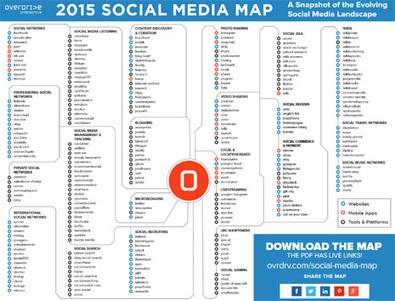 El mapa para no perderse en el intrincado y vasto universo de las redes sociales en 2015 | Murcia Mass y Social Media | Scoop.it