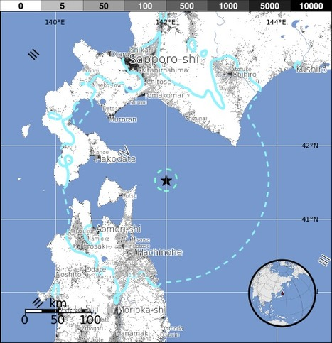 M6.1 - 70km ENE of Mutsu, Japan   Japan Tsunami   Scoop.it