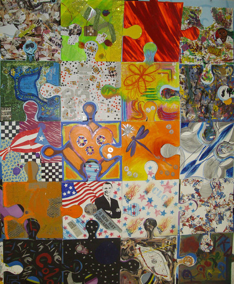 Puzzle Installation & Collaborative Project - Tim Kelly, artist | Art Education and Collaboration | Scoop.it