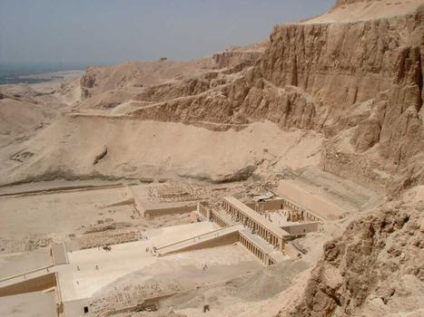 Templo de Hatshepsut:Fotos, informacion, datos curiosidades. | Mujeres Reinas En La Antiguedad | Scoop.it
