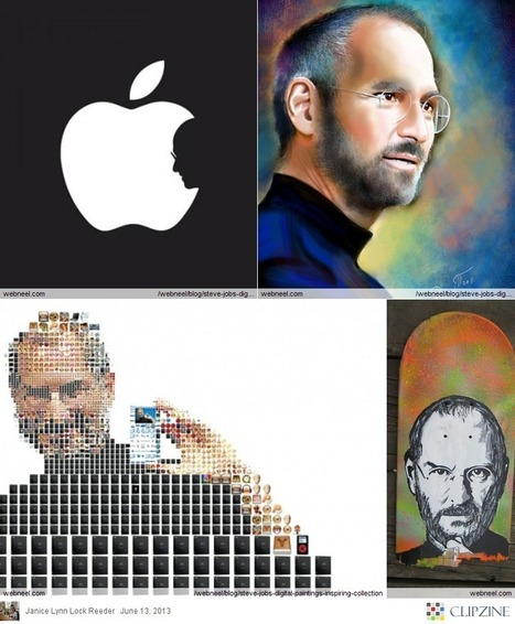 Steve Jobs Digital Paintings - Inspiring Collection | Clipzine Pages | Scoop.it